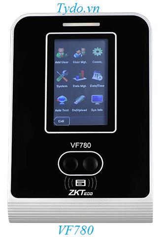 Máy chấm công nhận diện khuôn mặt kết hợp vân tay ZKTeco VF780