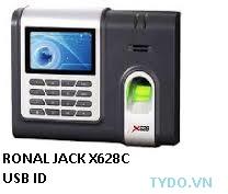 Máy chấm công vân tay và thẻ X628C/USB+ID