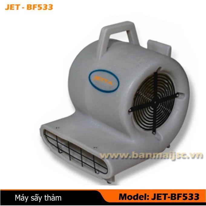 Máy sấy thảm ôtô du lịch BF-JET533