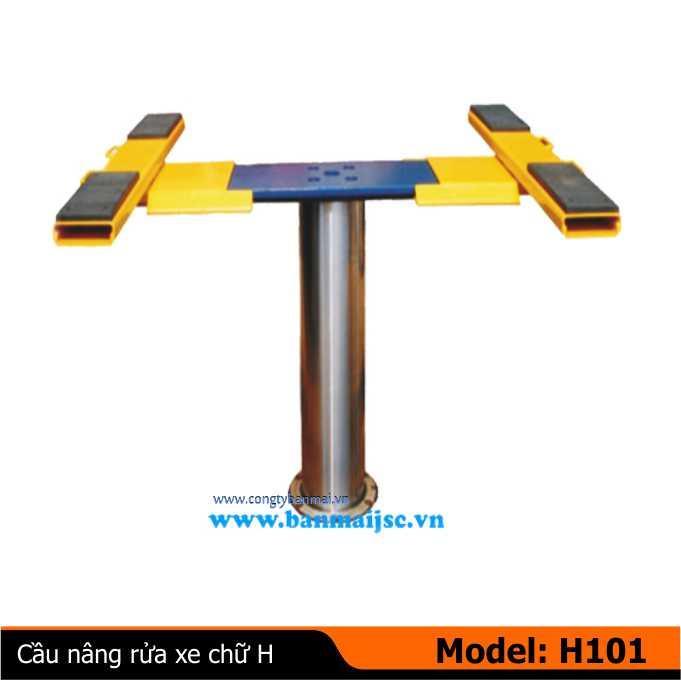 Cầu nâng rửa xe 1 trụ H-101