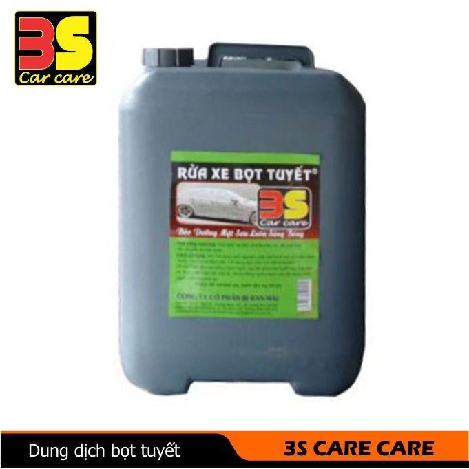 Dung dịch nước rửa xe bọt tuyết 3S