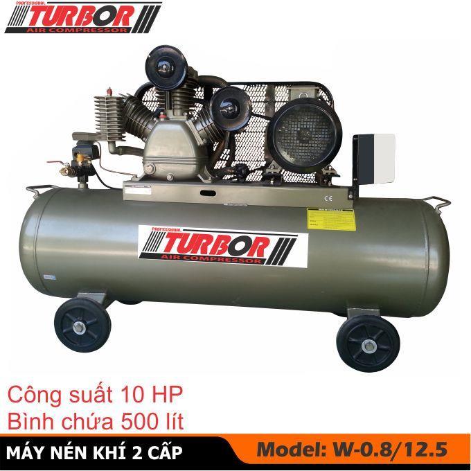 Máy nén khí  2 cấp 10HP nhãn hiệu TURBOR