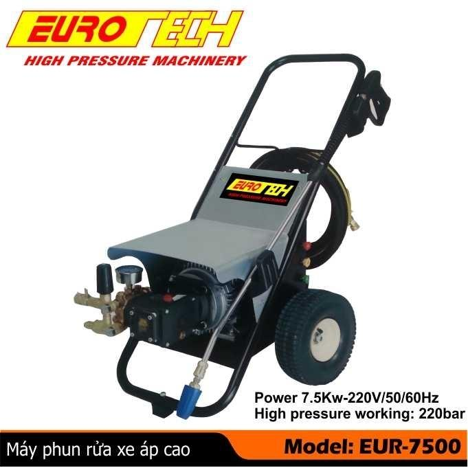 Máy xịt rửa xe 7,5 KW  EUROTECH - ITALY