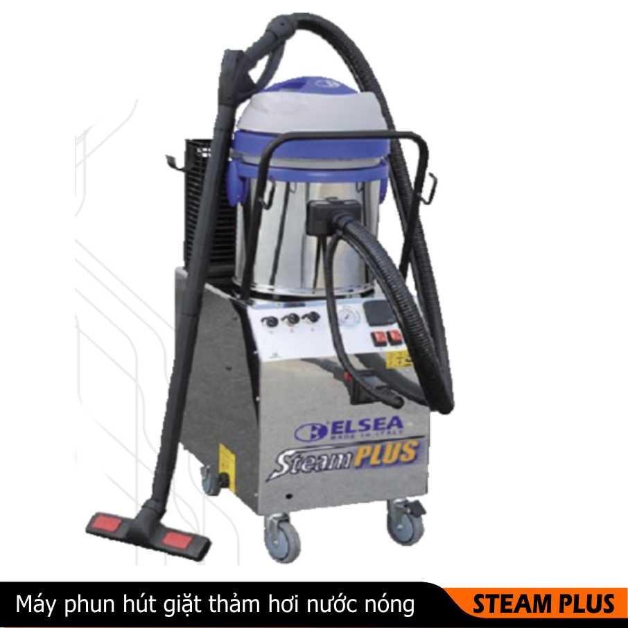 Máy phun hút giặt thảm hơi nước nóng STEAM PLUS