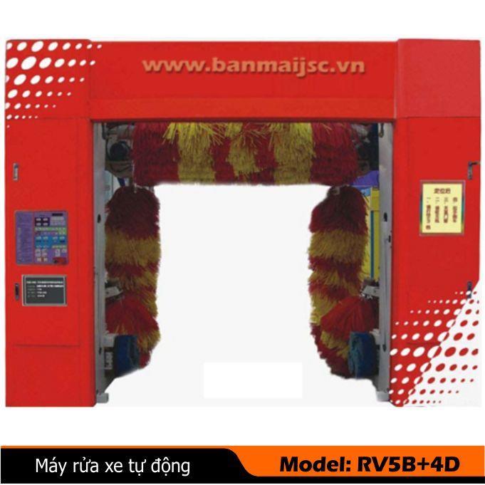Máy rửa xe ôtô tự động RV5B-4D