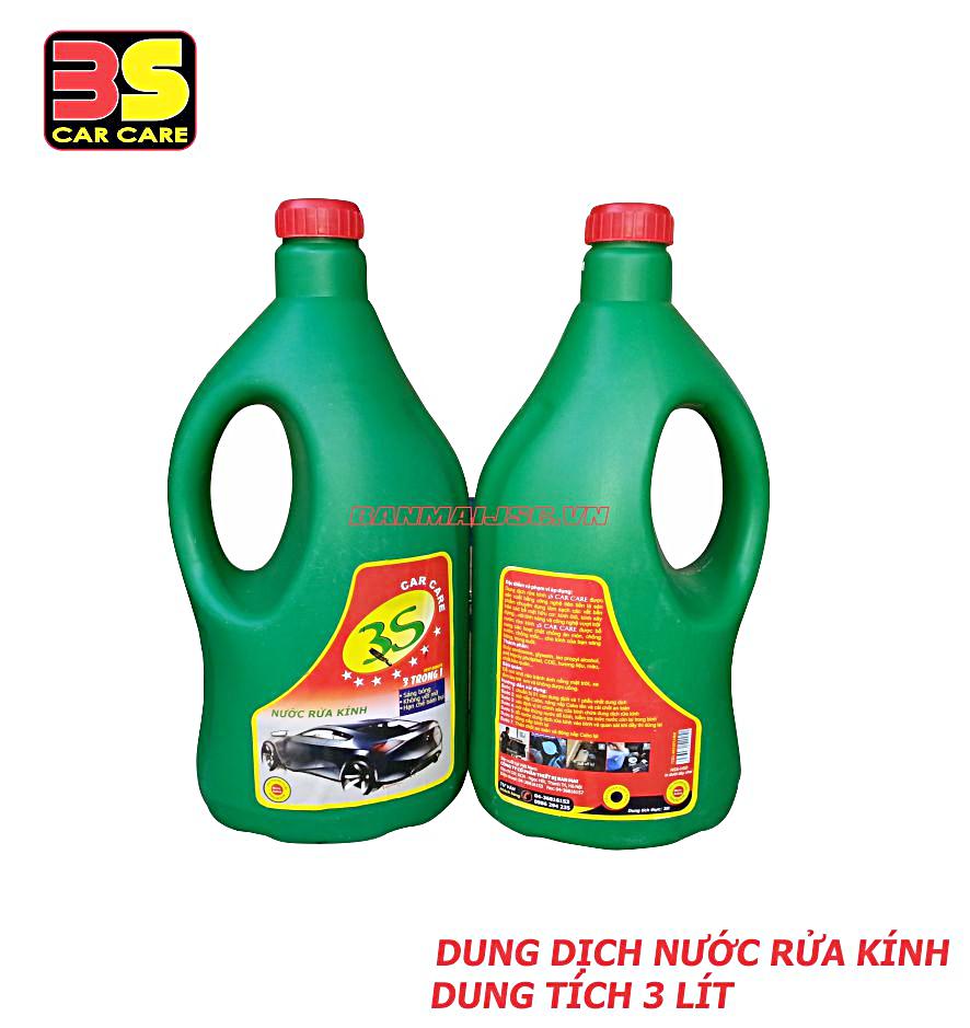 Nước rửa kinh ôtô 3 lít 3S CAR CARE