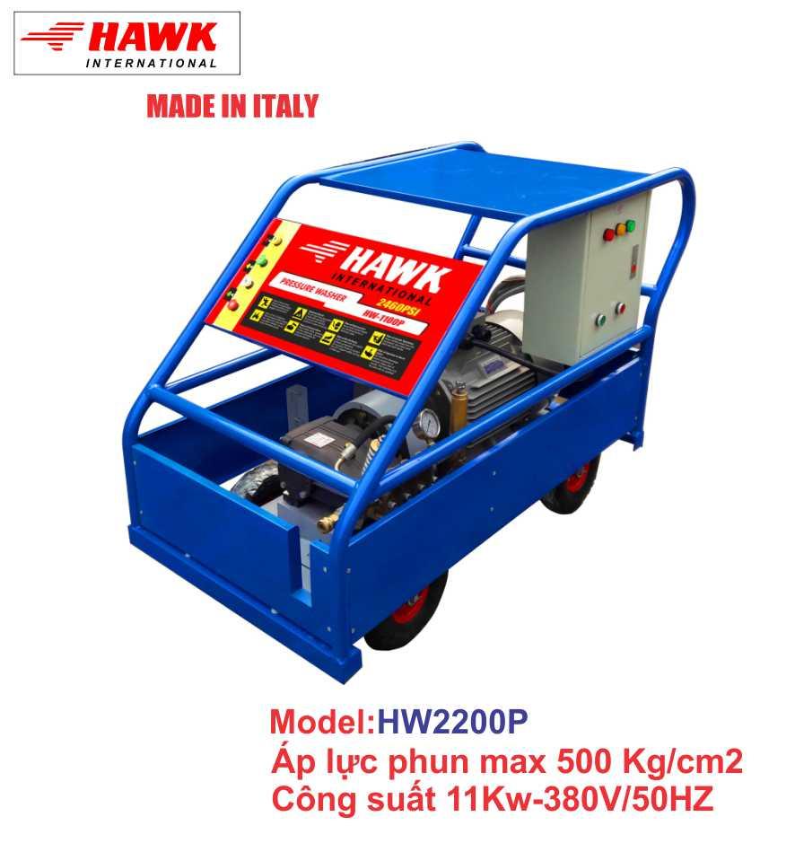 Máy phun rửa công nghiệp 22KW/500bar