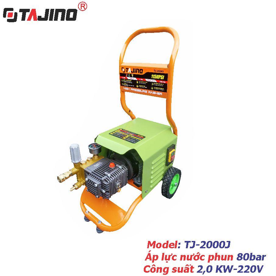 Máy phun rửa xe ô tô 2 KW - TJ-2000J