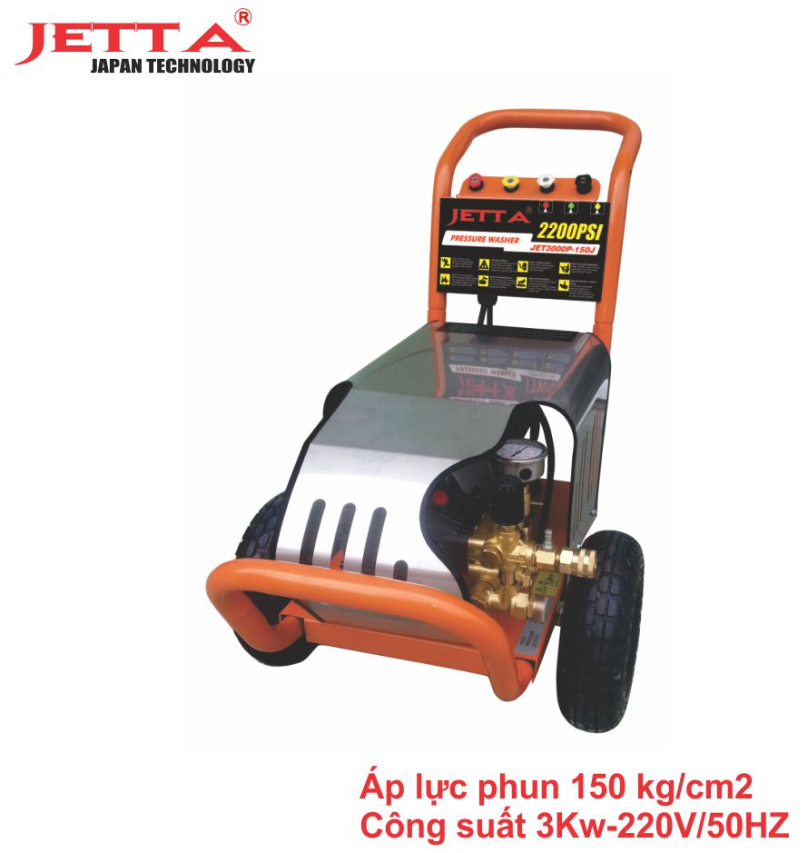 Máy phun rửa xe ô tô / 3KW - 2200PSI