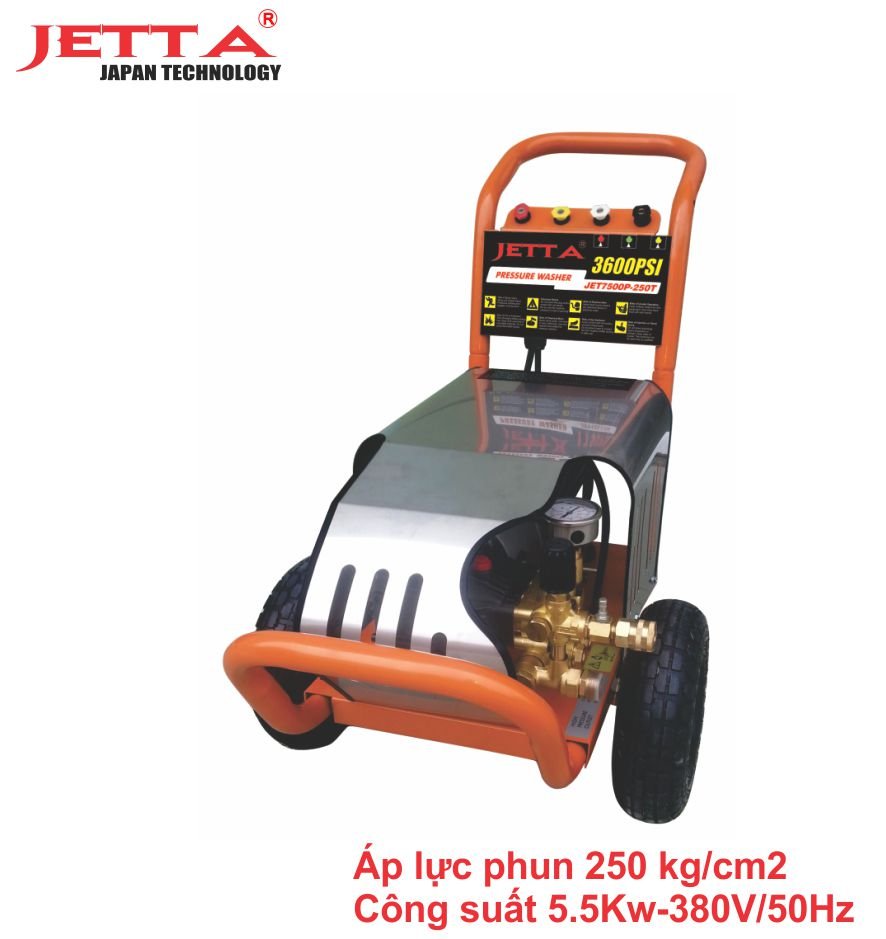 Máy rửa xe cao áp công suất 5,5KW - 3600PSI