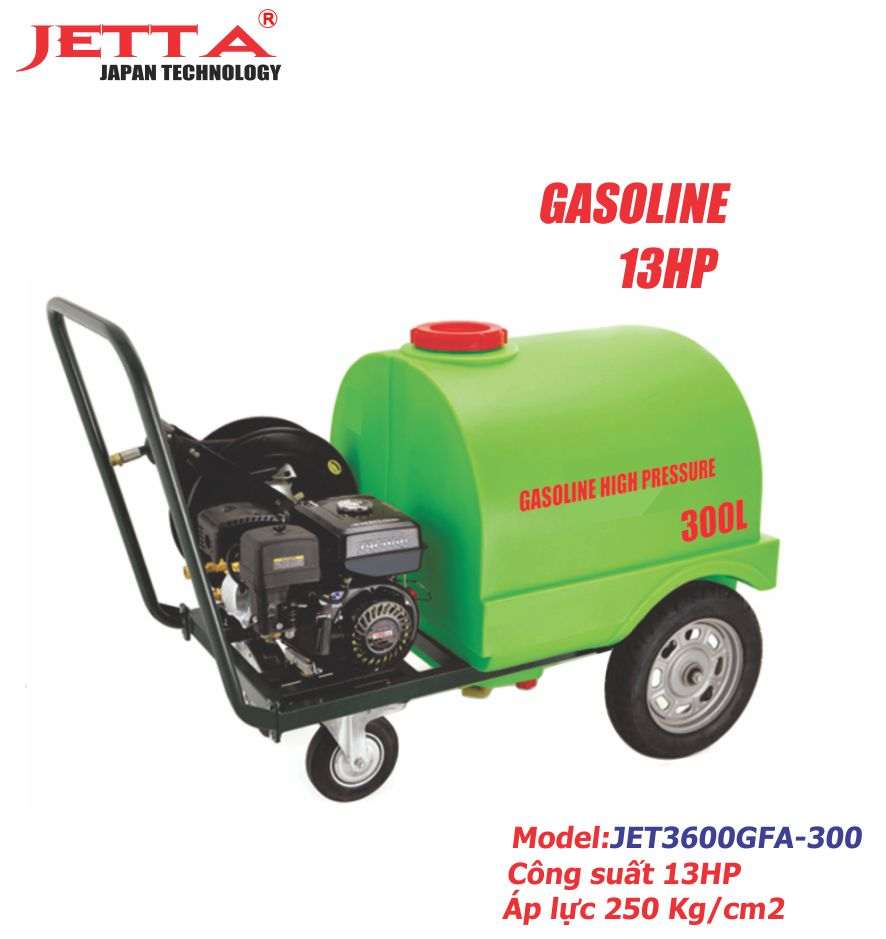 Máy xịt rửa động cơ xăng JET3600GFA-300