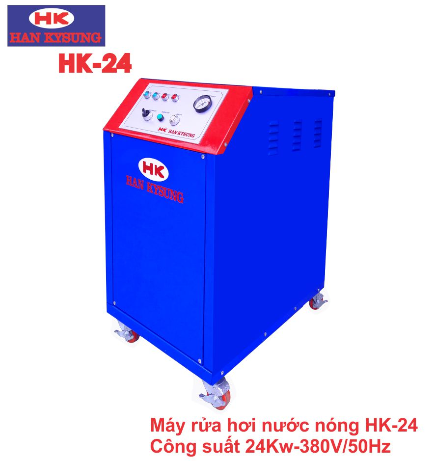 Máy rửa xe hơi nước nóng Công suất 24 KW