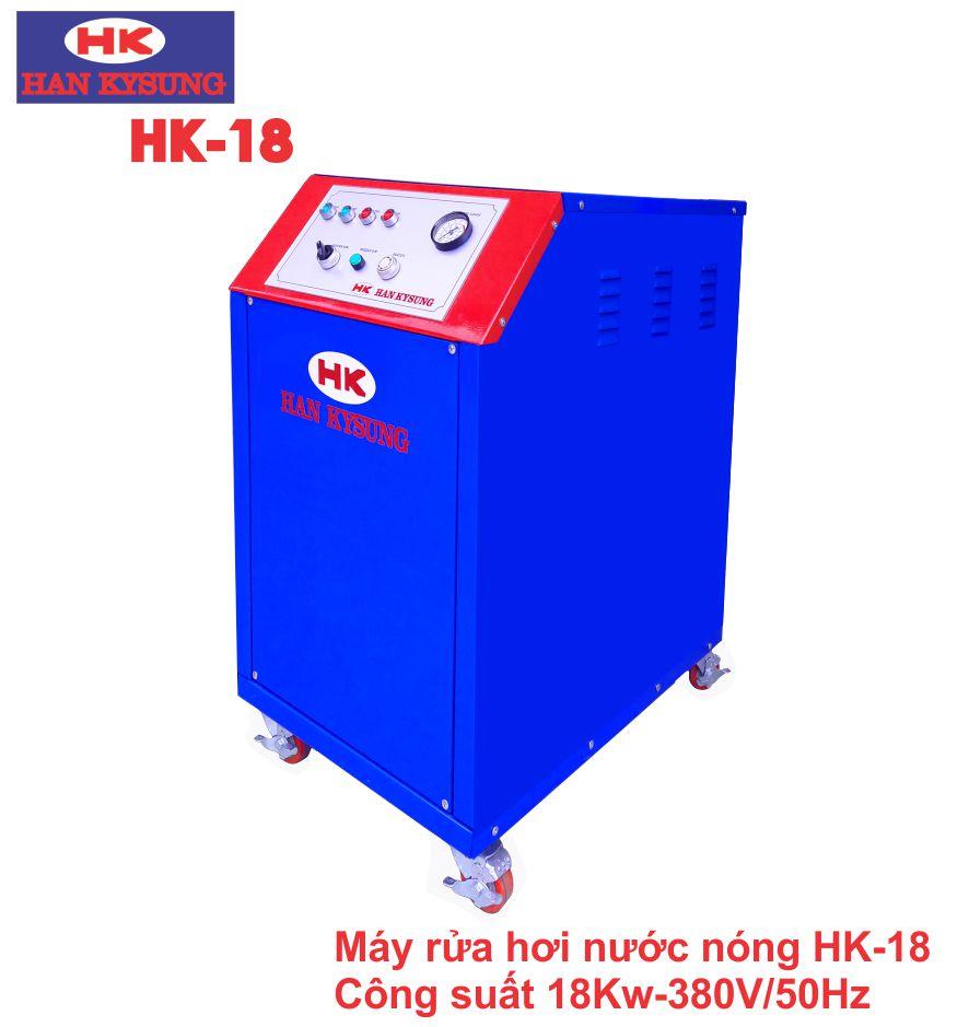 Máy rửa xe hơi nước nóng Công suất 18 KW