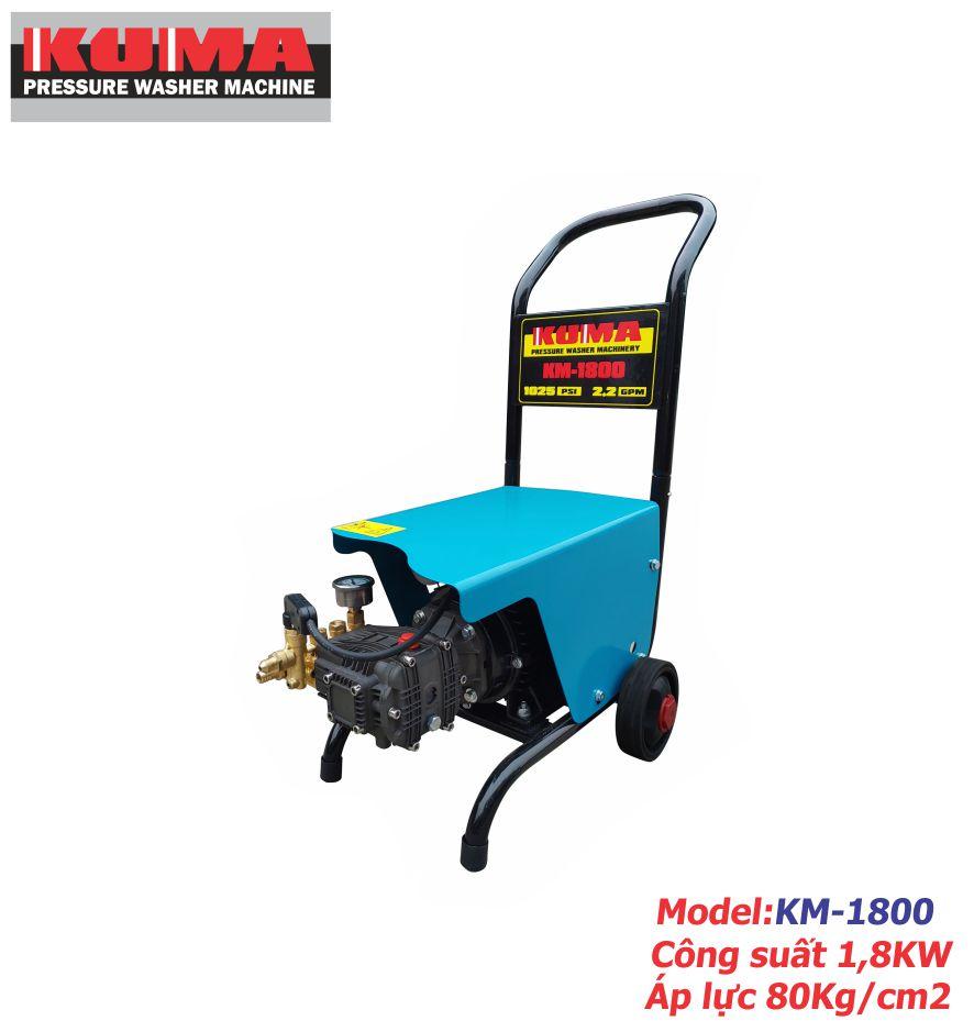 Máy xịt rửa xe mini gia đinh KM1800