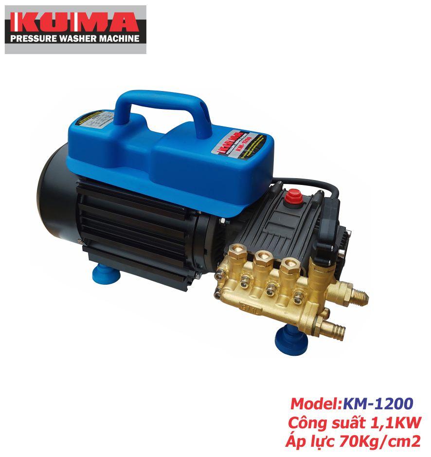 Máy rửa xe mini gia đinh KM1200