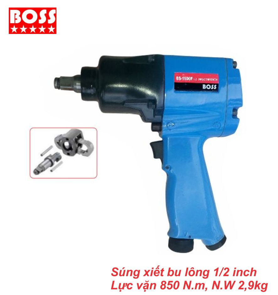 Súng vặn bulong 1/2 inch BS-1900P