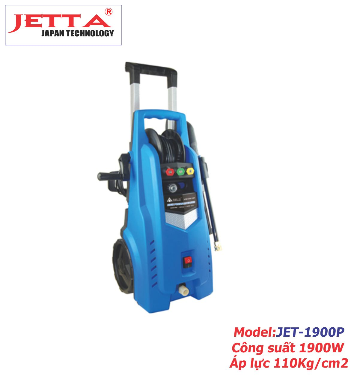 Máy rửa xe gia đình JET-1900P