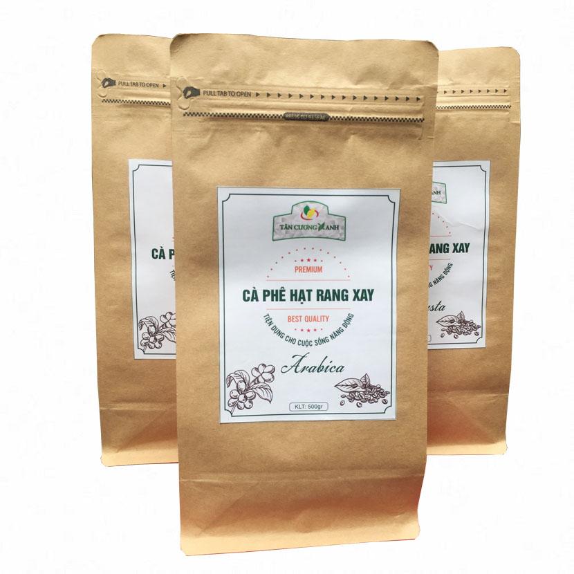 Cafe Arabica Rang Xay Thượng Hạng 500g