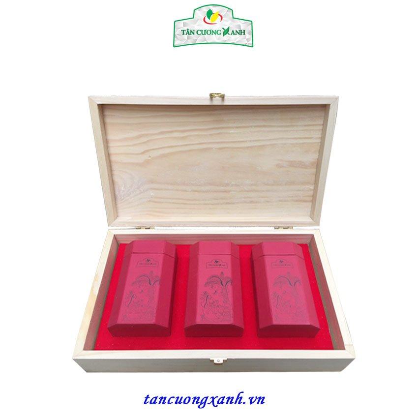 Hộp Trà Tân Cương Gỗ Thông TCX 3 - 300gram