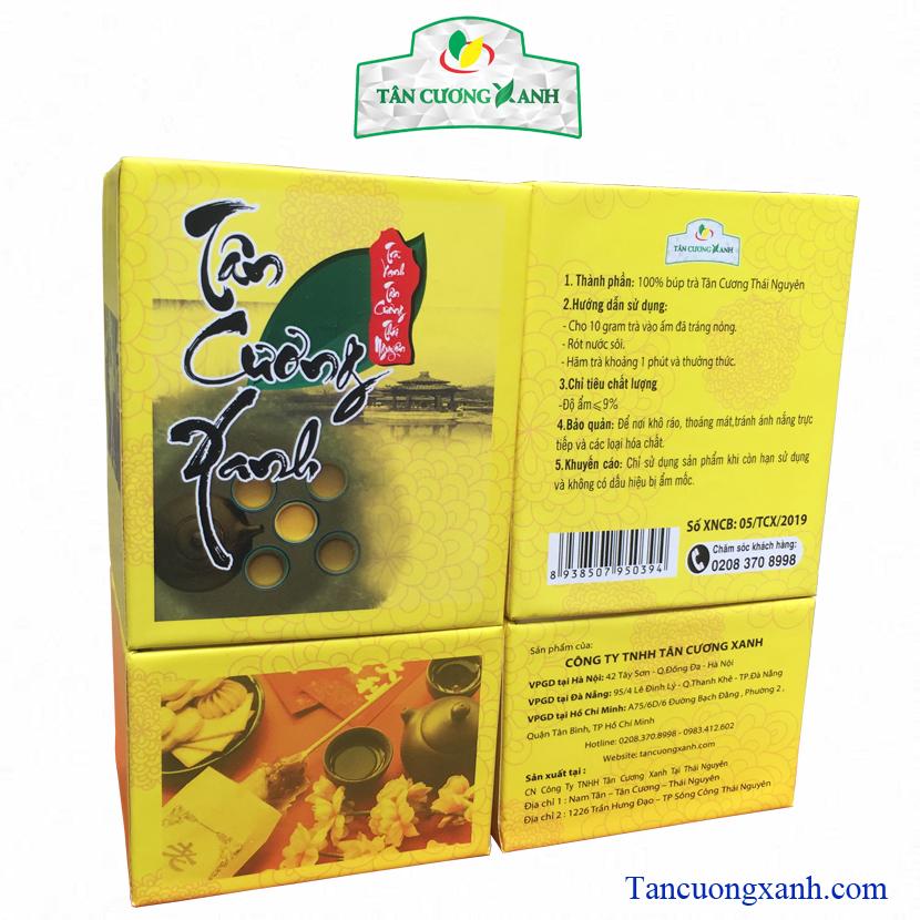Hộp Trà Xanh Tân Cương Thái Nguyên SK10 - 100gram