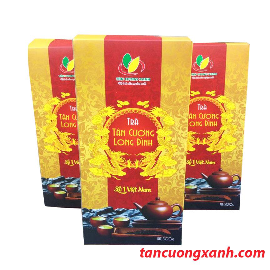 Tân Cương Long Đình 500G - Chè Thái Nguyên Móc Câu