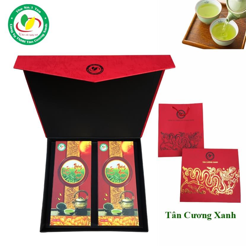 Hộp Trà Tân Cương Rồng Vàng Thượng Hạng 1kg