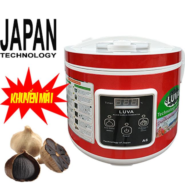 MÁY Ủ TỎI ĐEN LUVA A6 (6L) - JAPAN TECHNOLOGY (NEW)