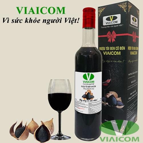 Rượu tỏi đen cô đơn VIAICOM (loại 1)