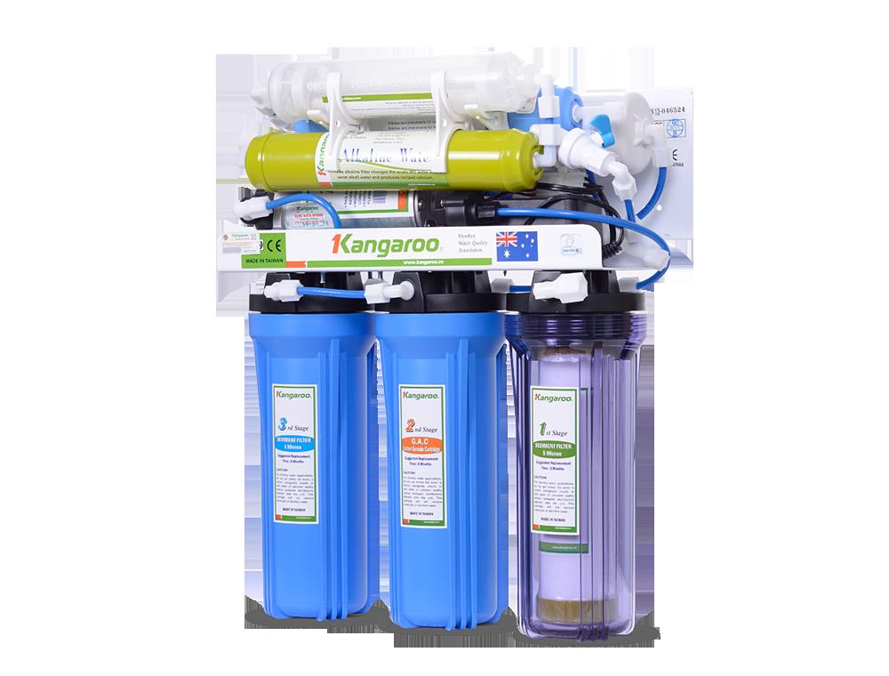Máy lọc nước Kangaroo 7 lõi không vỏ