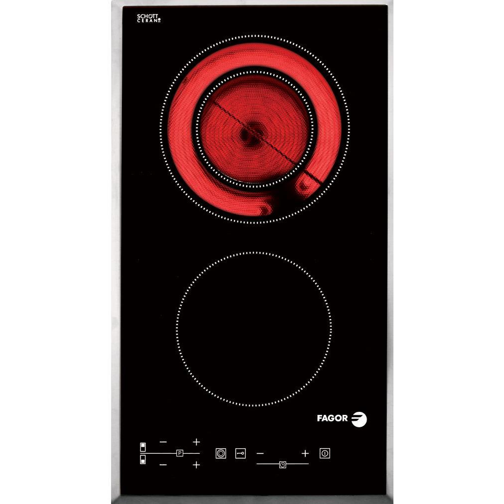 Bếp hồng ngoại đôi Domino Fagor 3MFT- 2AX