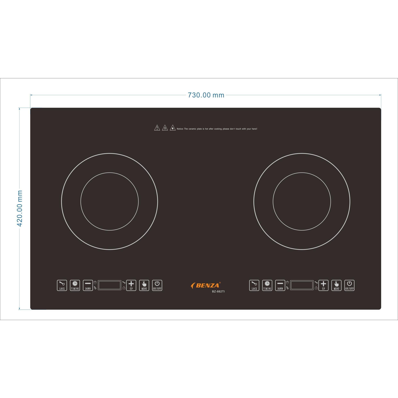 Bếp từ đôi Benza BZ-882TI