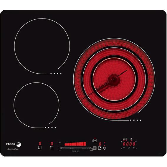 Bếp hồng ngoại ba Vitroceramic Fagor VF-SLIDE63-S