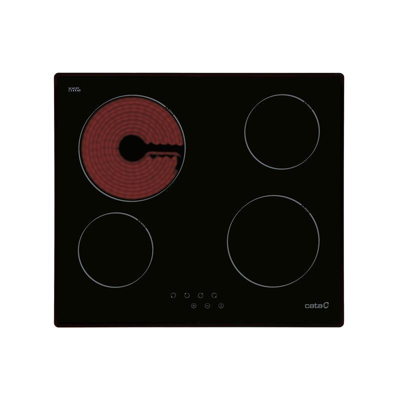 Bếp điện từ bốn âm kính Cata T604A