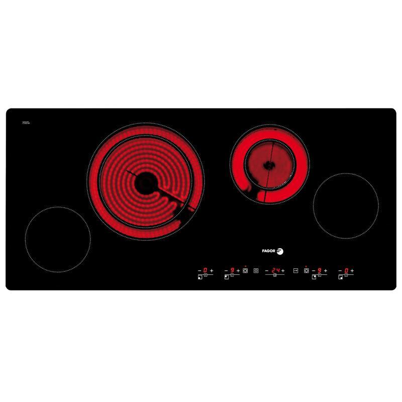 Bếp từ kết hợp với hồng ngoại bốn Fagor Vitroceramic 2VFT-900S