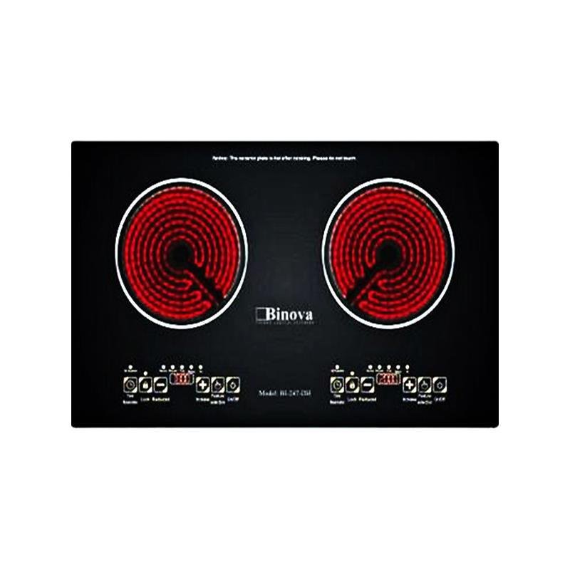 Bếp hồng ngoại đôi Binova BI-247-DH
