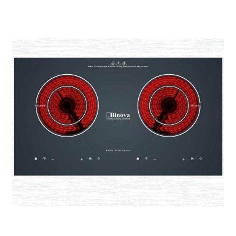 Bếp hồng ngoại đôi Binova BI-248-Ceramic