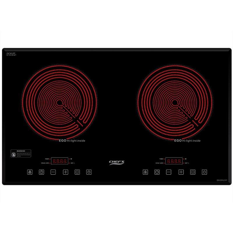 Bếp hồng ngoại đôi Chefs EH-DHL311