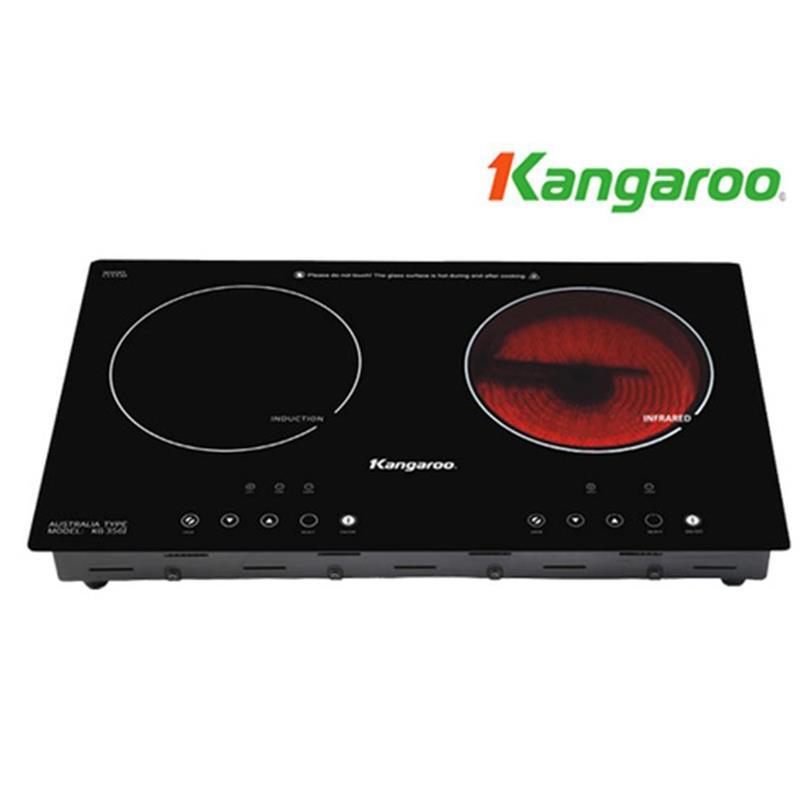 Bếp hồng ngoại đôi Kangaroo KG-356I