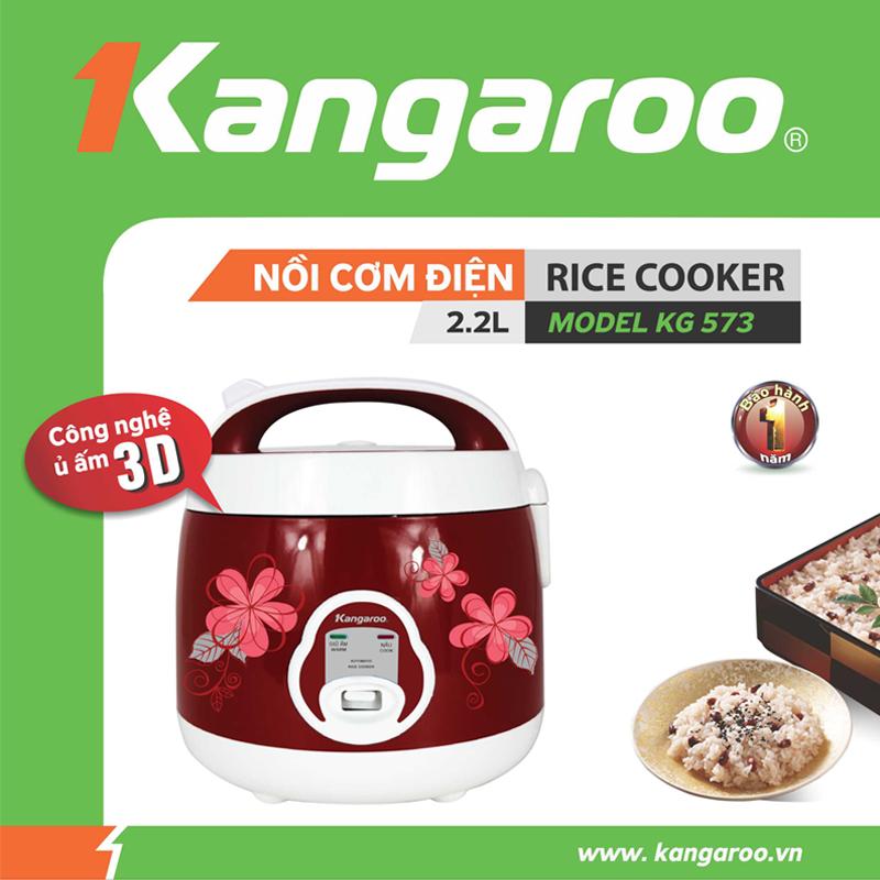 Nồi cơm điện Kangaroo Kg573 / KG574