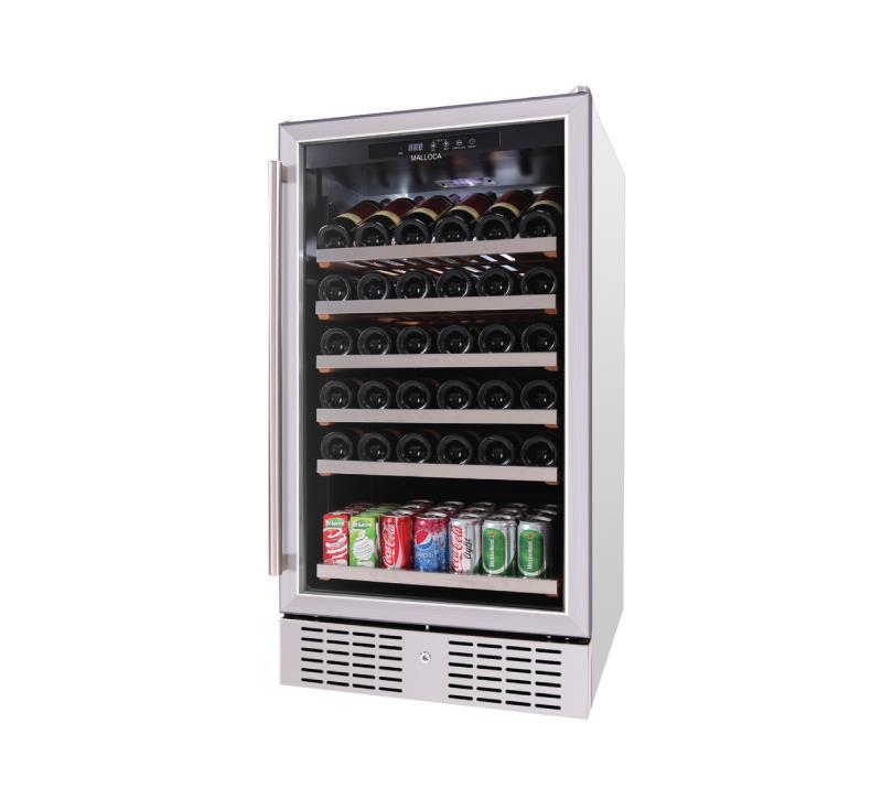Tủ Bảo Quản Rượu Độc Lập Malloca MWC-89S