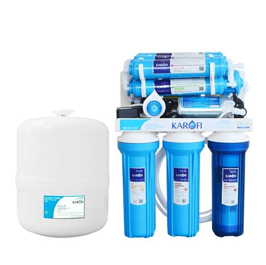 Máy lọc nước Karofi 8 lõi K8S không vỏ