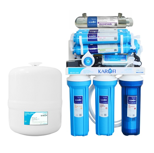 Máy lọc nước Karofi 9 lõi K9I-1 không vỏ