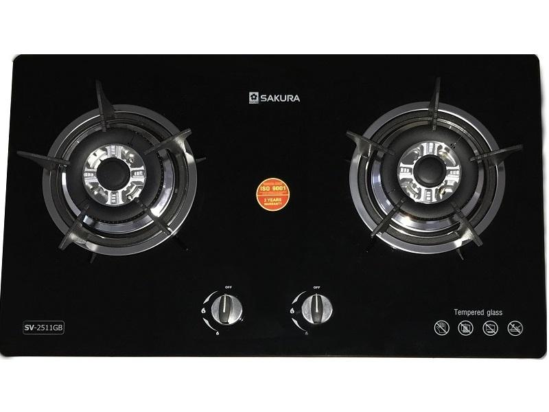 Bếp gas âm Sakura SV-2511GB