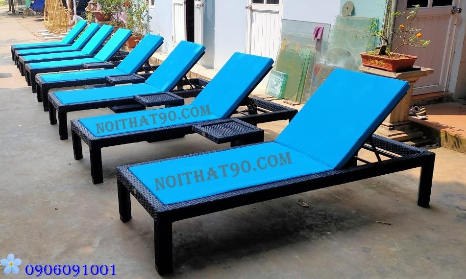 Giường bể bơi, bãi biển, ghế thư giãn 6446
