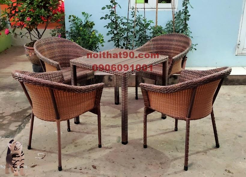 Bàn ghế cafe cf7479