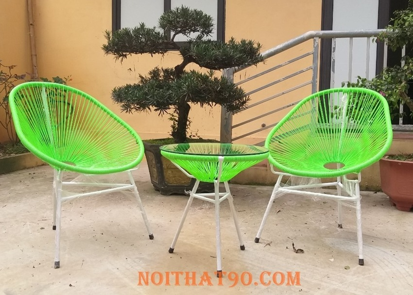 Bàn ghế ngoài trời Acapulco521