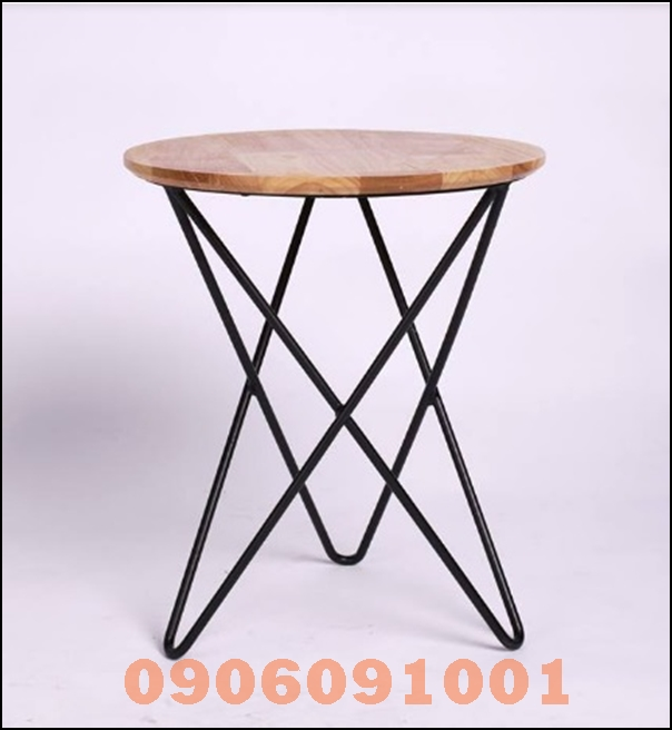 Bàn chân sắt mặt gỗ 003