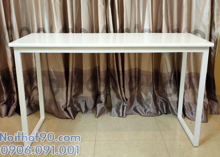 Bàn chân sắt mặt gỗ 48757