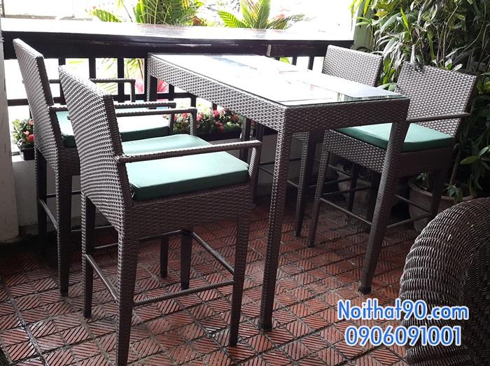 Bàn ghế bar 121784