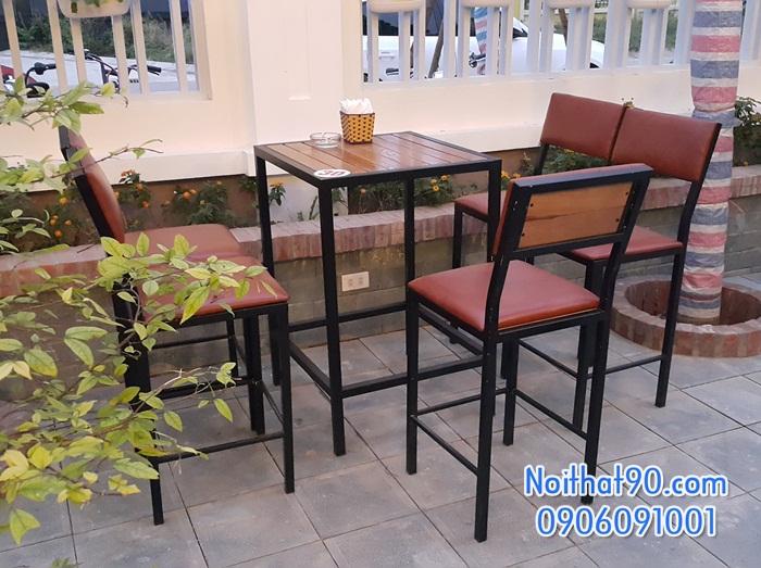 Bàn ghế bar cafe 172246
